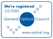General Optical Council registration